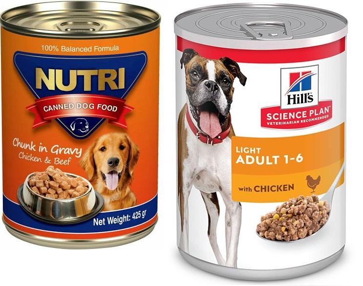 مقایسه مشخصات غذا سگ خارجی و ایرانی