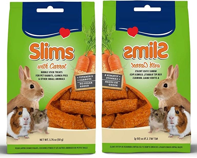 فروش مکمل غذا مخصوص جوندگان با طعم هویج