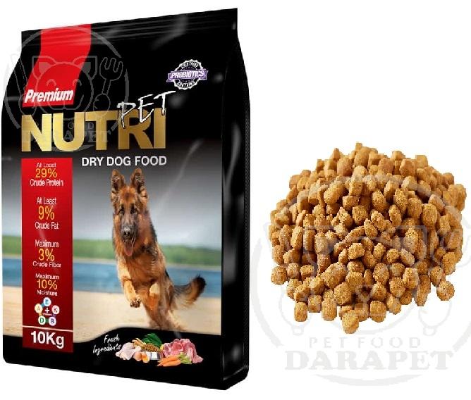 مشخصات غذا سگ ایرانی خشک
