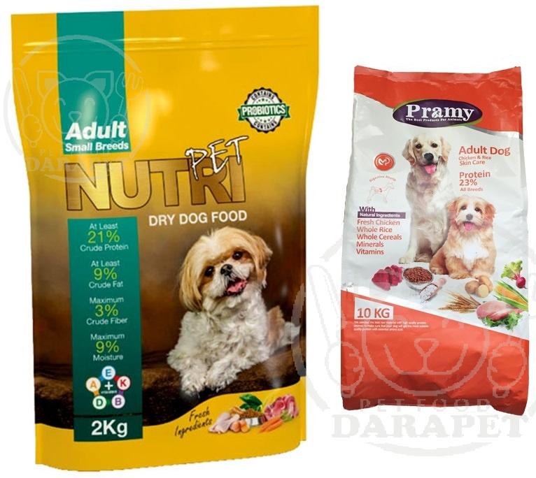 انواع غذا سگ ایرانی موجود در بازار