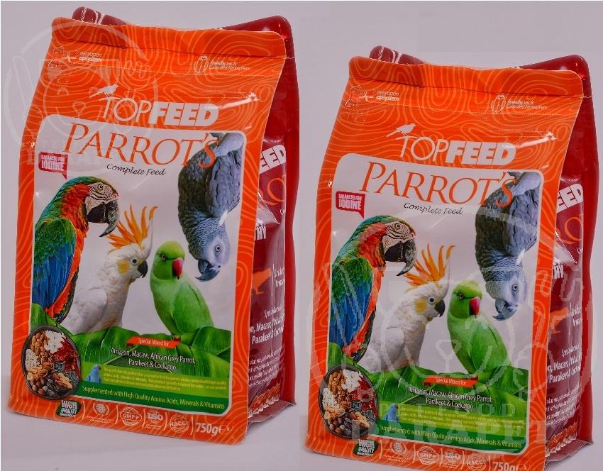 مشخصات انواع بسته بندی غذای پرنده