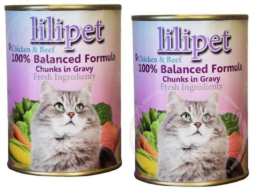 فروش کلی غذای تر گربه لی لی پت