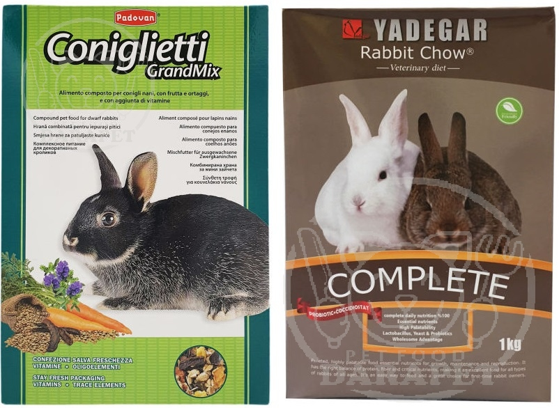 شرکت پخش انواع غذا خرگوش پریمیوم