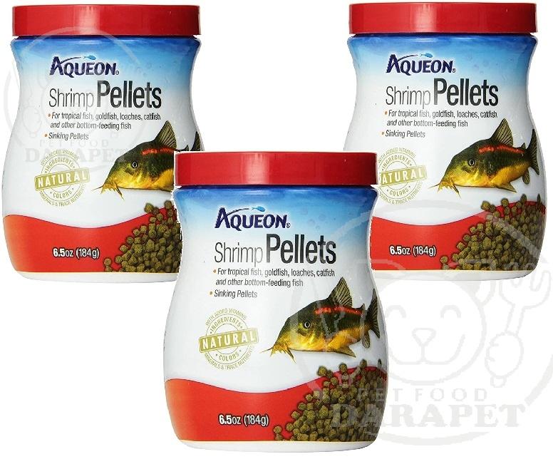 کمترین قیمت غذا ماهی گوشتخوار آکواریومی