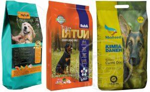 سفارش انواع غذای سگ ایرانی