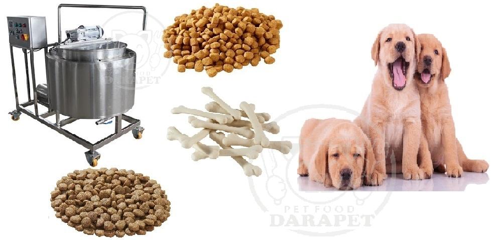 فرآیند تولید غذای سگ