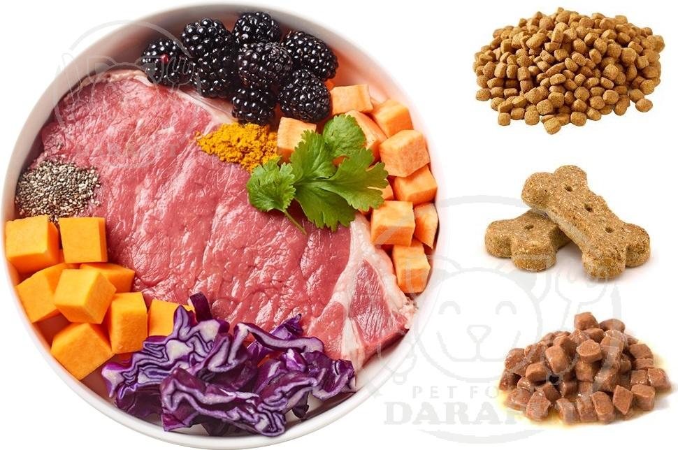 ارزش غذایی انواع غذای سگ ایرانی