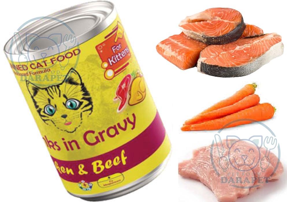 ترکیبات موجود در کنسرو گربه ایرانی چیست؟