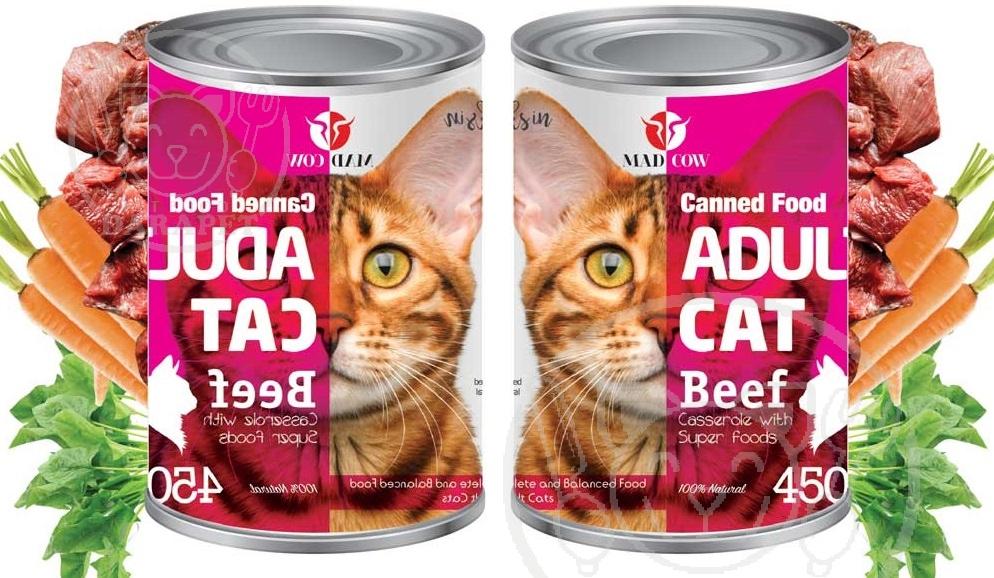 اطلاعات مفید در مورد کنسرو گربه