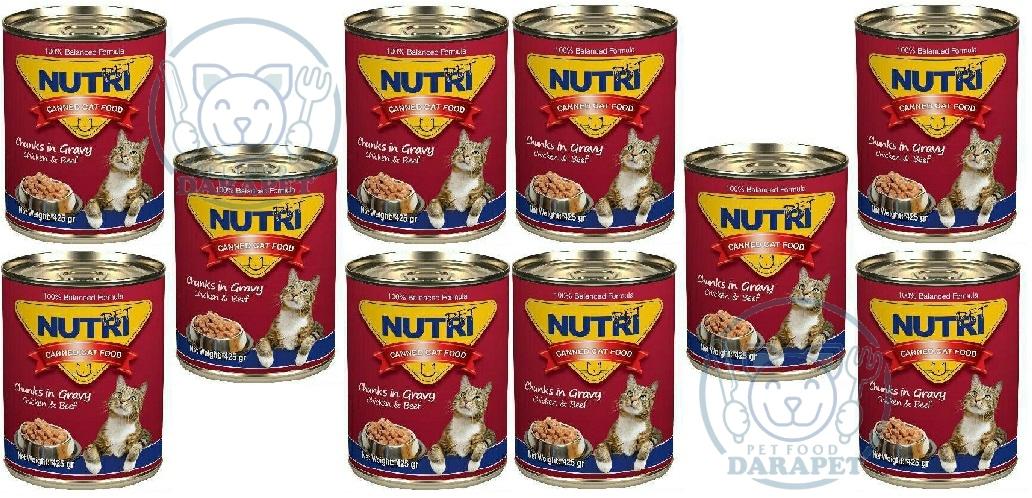 فروش انبوه غذای مقوی گربه
