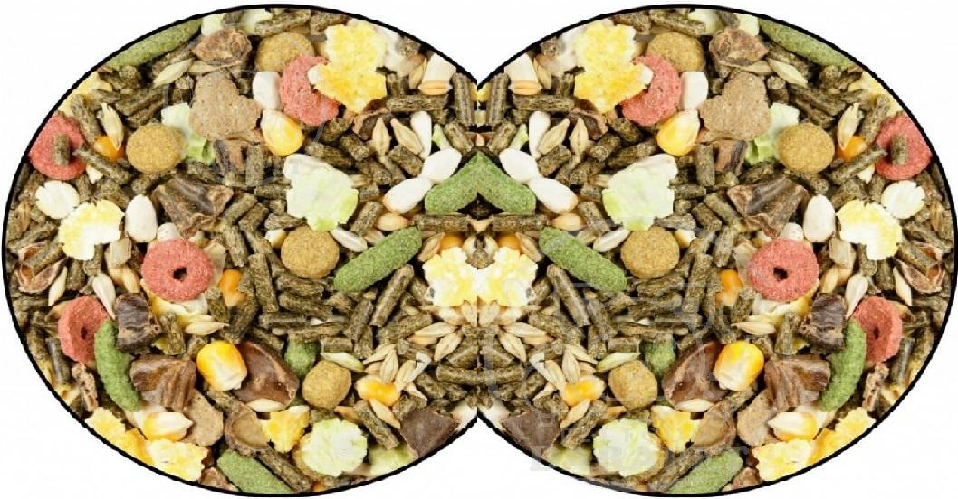 عرضه انواع غذای مخلوط خرگوش