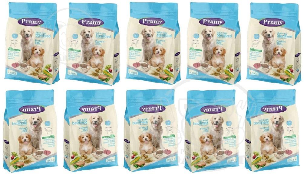 تولید ویژه غذای خشک سگ عقیم شده