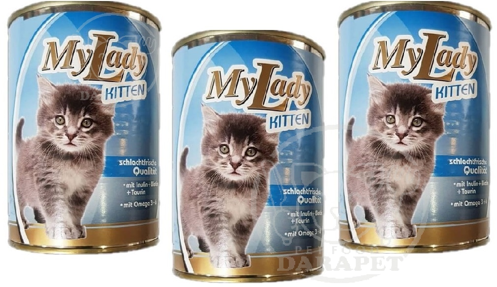 توزیع کنسرو بچه گربه 1250 گرمی