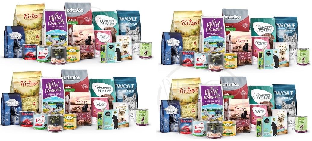 تولید انبوه غذا حیوانات خانگی معمولی