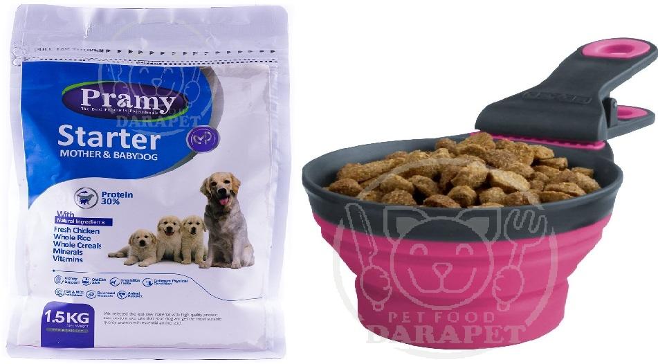 شرکت تولید غذا خشک توله سگ