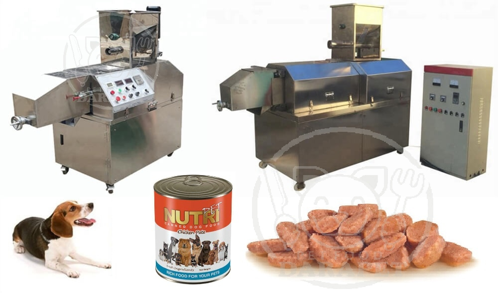 کارخانه تولید کنسرو سگ ایرانی