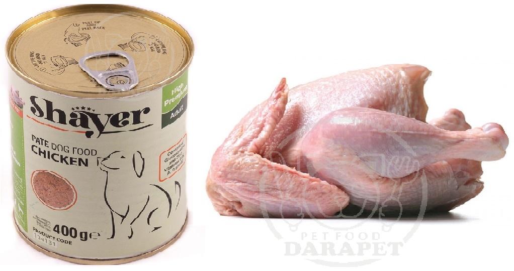 چرا طعم مرغ در کنسرو سگ استفاده میشود؟