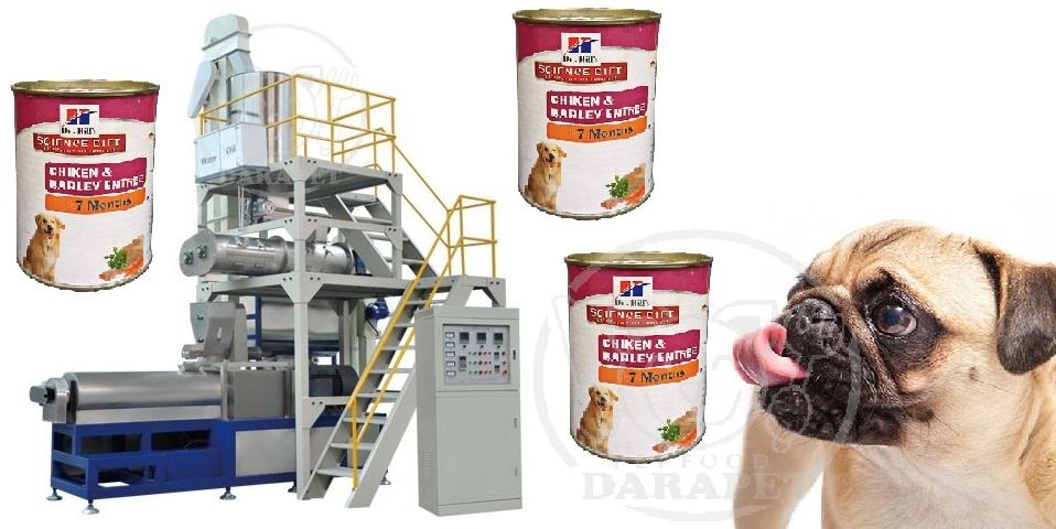 تولیدکننده کنسرو غذا سگ ایرانی