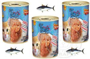 بازار خرید کنسرو گربه با طعم تن