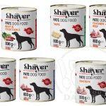 عرضه انواع کنسرو سگ در بسته بندی 800 گرمی
