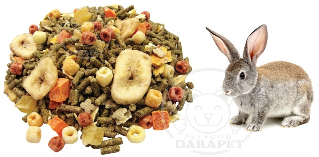 مشخصات کلی غذا مخلوط خرگوش صحرایی