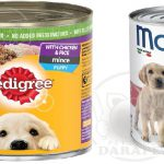 فروش انواع کنسرو برای توله سگ