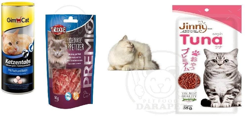 انواع مختلف تشویقی برای گربه