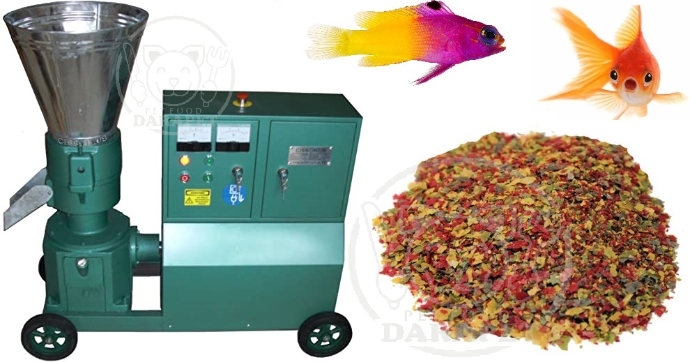 شرایط تولید غذای ورقه ای برای ماهی های مختلف